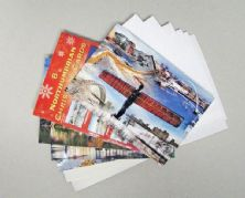 Pack of 8 Northumbrian Christmas Cards.